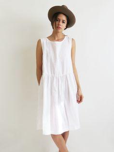 Linen Summer Dress SOLD