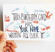 Pun birthday, funny birthday wish