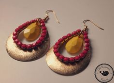 Ohrringe ❃  Farbenfroh ❃ von Little Handmade Treasures auf DaWanda.com