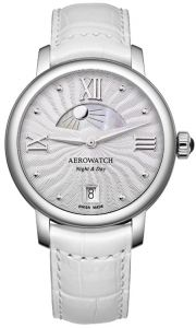 44938AA14 AEROWATCH Renaissance Night & Day Ladies Watch