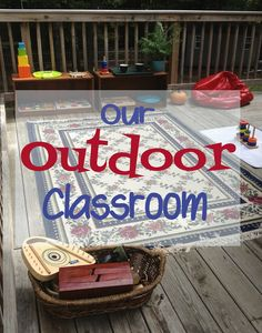 Simple Little Home: Our Outdoor Classroom