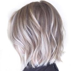#hair #short #blonde #ash