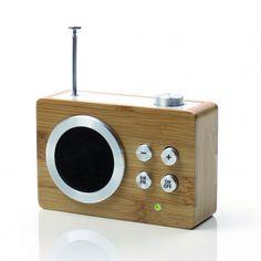 Radio Mini Dolmen - Bambou - Lexon
