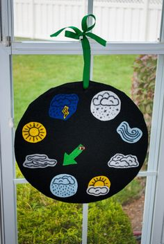 Weather Wheel.  Great activity for kids!