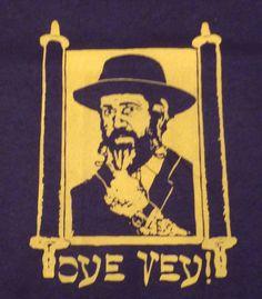 Oye Vey! Rabbi Funky Youth T-Shirt Size Large #JERZEES  http://www.ebay.com/itm/Oye-Vey-Rabbi-Funky-Youth-T-Shirt-Size-Large-/191329071848