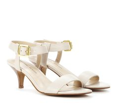 Sole Society - Julianne Hough - Open toe sandals with ankle strap and adjustable buckle closure.