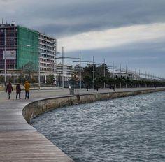 Thessaloniki, Sidewalk, Side Walkway, Walkway, Walkways, Pavement