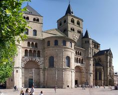 Trierer Dom; my favorite cathedral in Germany and possibly all of Europe.