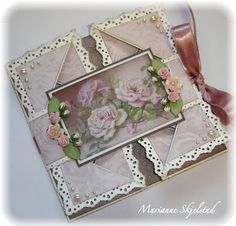 Mariannes paper world.: Two cards from One Touch.