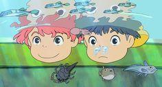 Scores Animation: Music: Voice Acting (dub): Story: Overall: See explanation of scores below. Ponyo is Hayao Miyazaki's most joyous film. Art Studio Ghibli, Studio Ghibli Films, Hayao Miyazaki, Film Anime, Anime Art, Arte Indie, My Neighbor Totoro, Animes Wallpapers, Animation Film