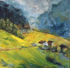Swiss Schwisch 24x24 Oil on gallery wrap canvas