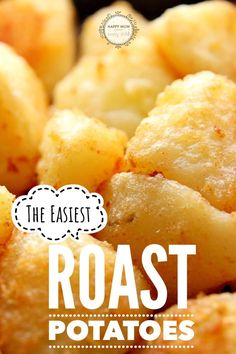 The easiest roast potatoes - cook perfectly every single time! via Happy Mum Happy Child Cooking Roast Potatoes, Crispy Potatoes, Gf Recipes, Side Dish Recipes, Healthy Recipes, Healthy Family Dinners, Family Meals, Kinds Of Vegetables, Vegetable Side Dishes
