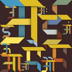 Hindi Typography by Sudhir Kuduchkar, via Behance Creative Typography Design, Ads Creative, Logo Design, Typography Served, Typography Quotes, Hindi Calligraphy Fonts, Graphic Design Inspiration, Just In Case, Behance