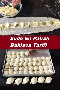 #tatlıtarifleri #baklavatarifi Delicious Desserts, Dessert Recipes, Baklava Recipe, Turkish Recipes, Mousse Dessert, Culinary Arts, Food Preparation, Scones, Deserts