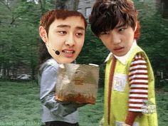 Se hizo de noche y la cita acabó y volvieron con las ropas que acabaron de comprar durante el día, nadie sabía como pero Kyungsoo…