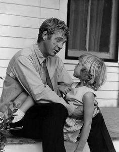Steve McQueen, Billy Strange | Back Set of Baby the Rain Must Fall | 1965 | as Henry Thomas