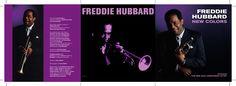 Freddie Hubbard - New Colors CD booklet spread. Client: Hip Bop Records. Circa 2001. © Sean Mowle.