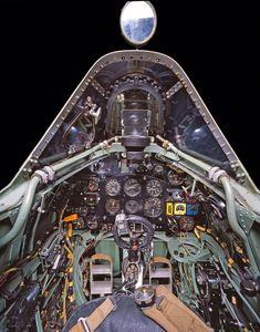 Supermarine Spitfire cockpit - cabina