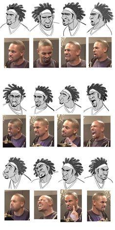 Wasabi | Big Hero 6 #Disney #facialexpressions