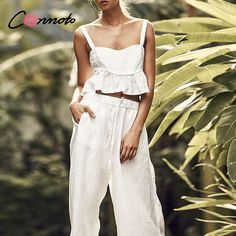 Online Shopping at a cheapest price for Automotive, Phones & Accessories, Computers & Electronics, Fashion, Beauty & Health, Home & Garden, Toys & Sports, Weddings & Events and more; just about anything else Enjoy ✓Free Shipping Worldwide! ✓Limited Time Sale ✓Easy Return. Backless Jumpsuit, White Jumpsuit, Plus Size Jumpsuit, Rompers Women, Summer Beach, Wedding Events, Weddings, Ruffles, Sexy