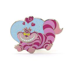 838b1a6fa2a Cheshire Cat Hearts Pin · Cheshire CatDisney MerchandiseDisney ParksAlice  In WonderlandPatches
