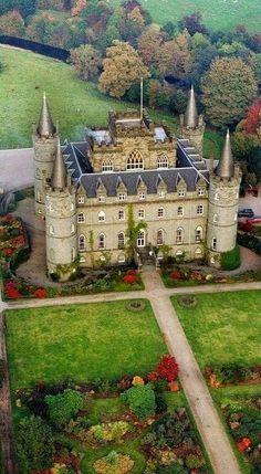Inveraray Castle and Garden ~ Argyll, Scotland