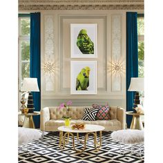 Delphine Bar Cabinet by Jonathan Adler and more… / The English Room Blog