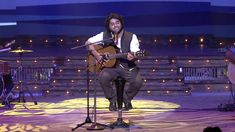 Arijit Singh with his soulful performance on the stage of 6th Royal Stag...
