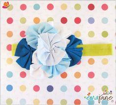 Amazon.com: Ema Jane Shabby Chic Girl Flower Headbands - Fits Baby, Toddler, and Child