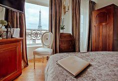 Paris Hotels, Places To Go, Curtains, Mirror, Building, Furniture, Paris France, Home Decor, Tour Eiffel