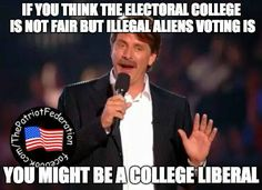 ...you might be a college liberal.