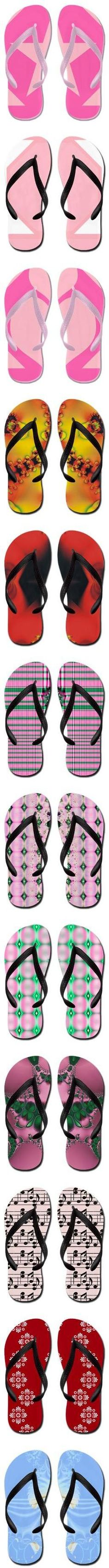 """Flip Flops. Designs by EML"" by circus-valley on Polyvore #flipflops #cafepress"