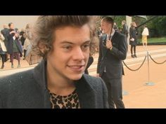 Harry Styles interview at the Burberry show: He talks style tips, British stars and fashion