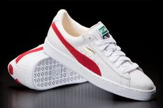 Puma White And Red