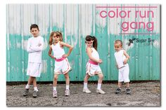 Little Color Runners!