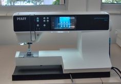 The people at Pfaff have released a sewing and quilting machine that is not only sure to please the intermediate or advanced home sewer, but is easy enough to operate, someone who is new to sewing ...