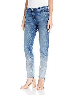 Guess Womens Relaxed Fit Jean Medium Wash with Reflective 25 R >>> You can get more details by clicking on the image. (Note:Amazon affiliate link)