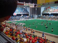 The Biggest Thing That Someone Made Out of Legos | Maquette d'un stade de football (Mondial 2006) expose au Legoland de ...