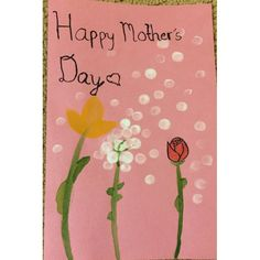 Cute Mother Day cards ideas!did these myself!