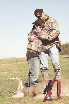 Shawn Michaels and his son, Cameron. Great pic except for the deer. Wwf, Hulk Hogan, Michael, Professional Wrestling, Wwe, Wwf Superstars, Wrestlemania, Triple H, The Heartbreak Kid