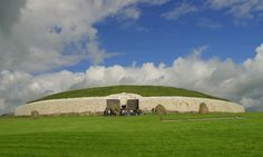New Grange, Ireland - 2005. Stumbled on this with the kids on our family trip through Ireland.  Amazing tomb and for someone scared of confined spaces I managed to get in and out - however was pretty dam quick. Beautiful,place to see and visit.