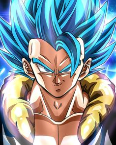 In animenetportal you can find almost everything about anime. Dragon Ball Z, Blue Dragon, Photo Dragon, Gogeta And Vegito, Super Anime, Anime Art, Fan Art, Drawings, Marvel