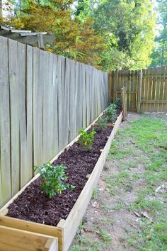 how to get your neighbors to fix their curb appeal problems - Garden Ideas Along Fence Line