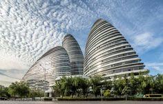 Wangjing SOHO mixed-use development , designed by world-renowned architect Zaha Hadid, has received the Zhan Tianyou Award for engineering.
