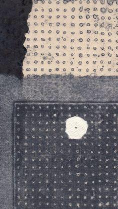 Ann Symes: blue dots 2