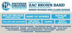 More artists announced for this year's Southern Ground Music & Food Festival in Charleston! Please welcome special sit-in guests Kenny Rogers and Clare Bowen from ABC's Nashville as well as Natalie Maines, Fitz & The Tantrums, Blackberry Smoke, The Wood Brothers, Holly Williams, Levi Lowrey, Niko Moon, DUGASMUSIC, John Driskell Hopkins and Balsam Range, Clay Cook, Coy Bowles and the Fellowship, AJ Ghent Band and The Brothers Road! Tickets available now: http://budurl.com/SGFestCHStix