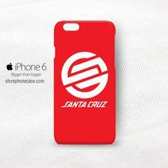 Santa Cruz Skateboard iPhone 6 6S Cover Case