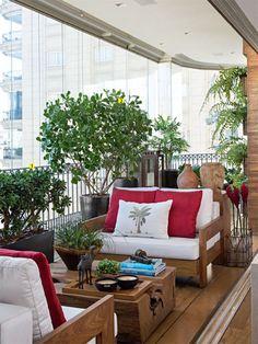 Brazilian balcony