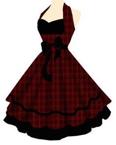 Рокабилли платье ahhhhhh, oooohhhhhh ..... Я хочу это!
