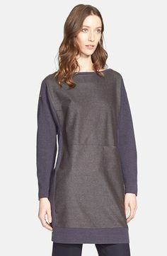 Women's Fabiana Filippi Flannel Front Sweater Tunic